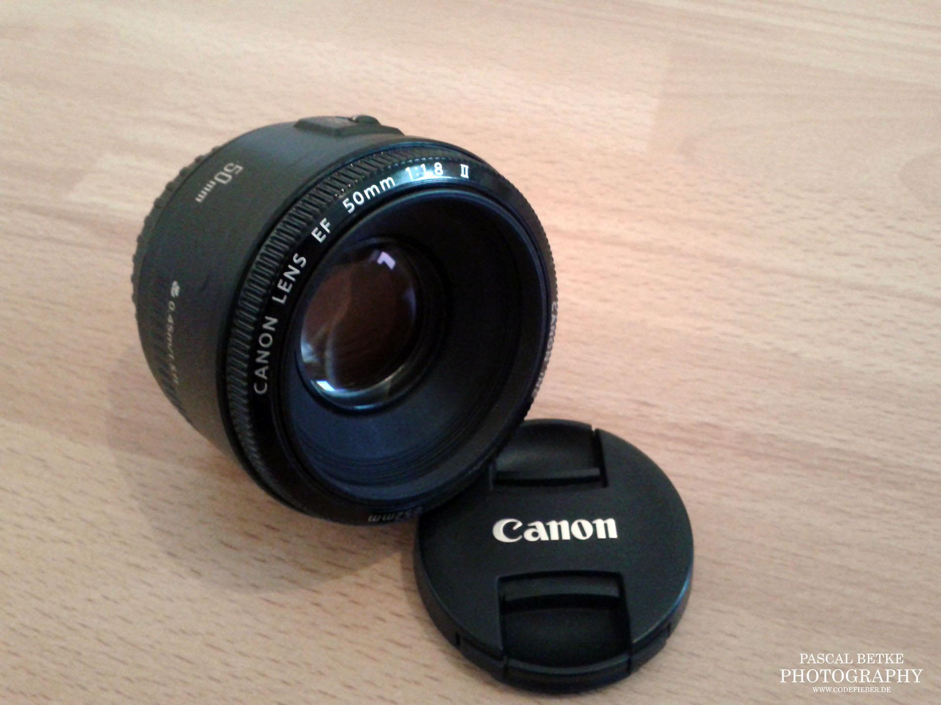 canon 50mm 1.8 objektiv