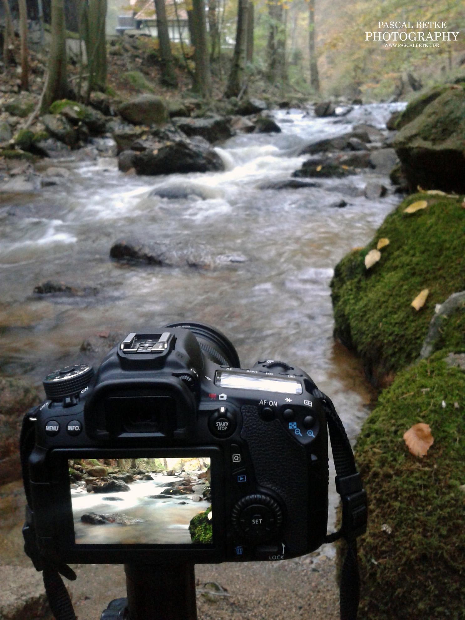 Ilsetal Ilsefälle untere Wasserfälle Makingof
