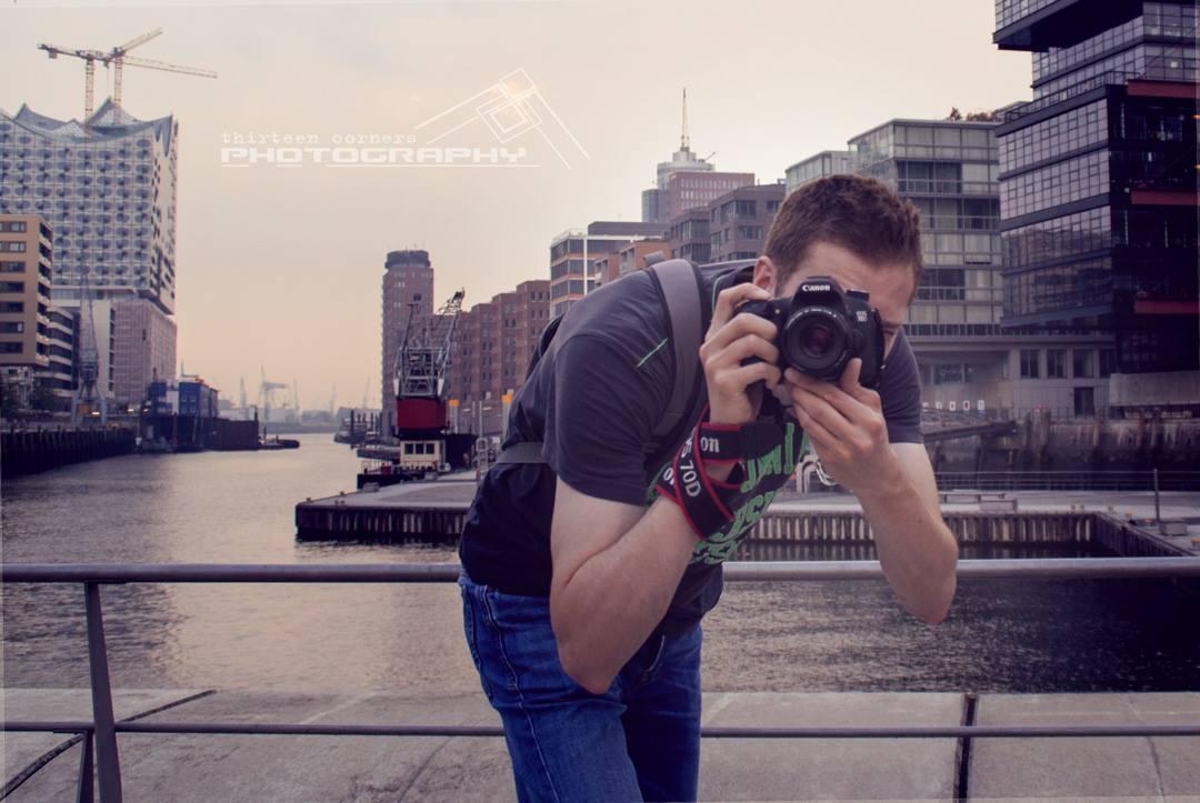 Pascal Betke Photography hinter der Kamera