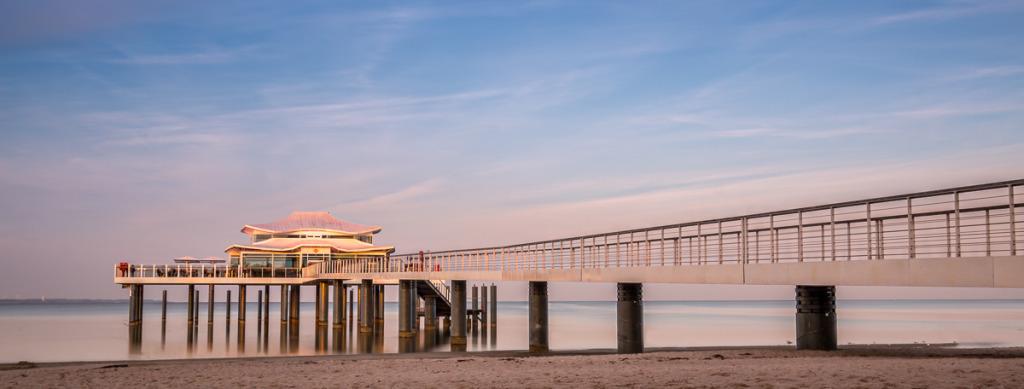 Timmendorfer Strand Japanisches Teehaus Seebrücke