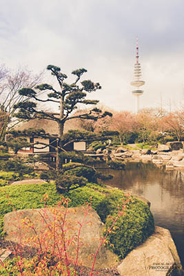 Japanisches Teehaus in Planten un Blomen Hamburg