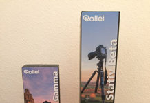 Rollei Rock Solid Gamma und Beta Carbon Stative